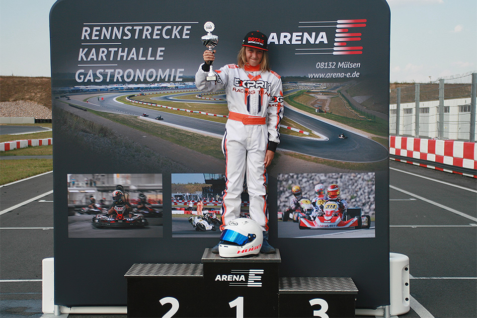 Hugo Güttel feiert RMC Clubsport-Sieg in Mülsen