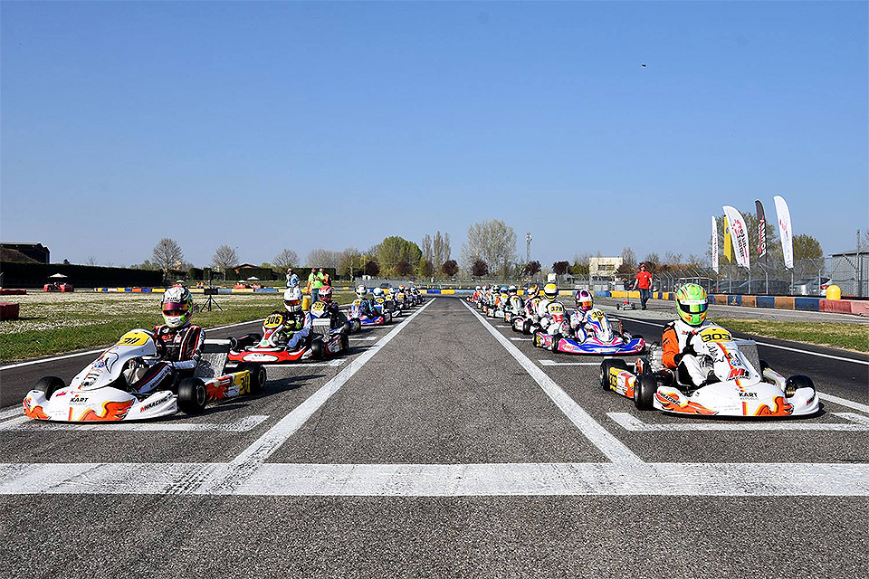 Saisonauftakt 2020 autobau Schweizer Kart-Meisterschaft 7 Laghi