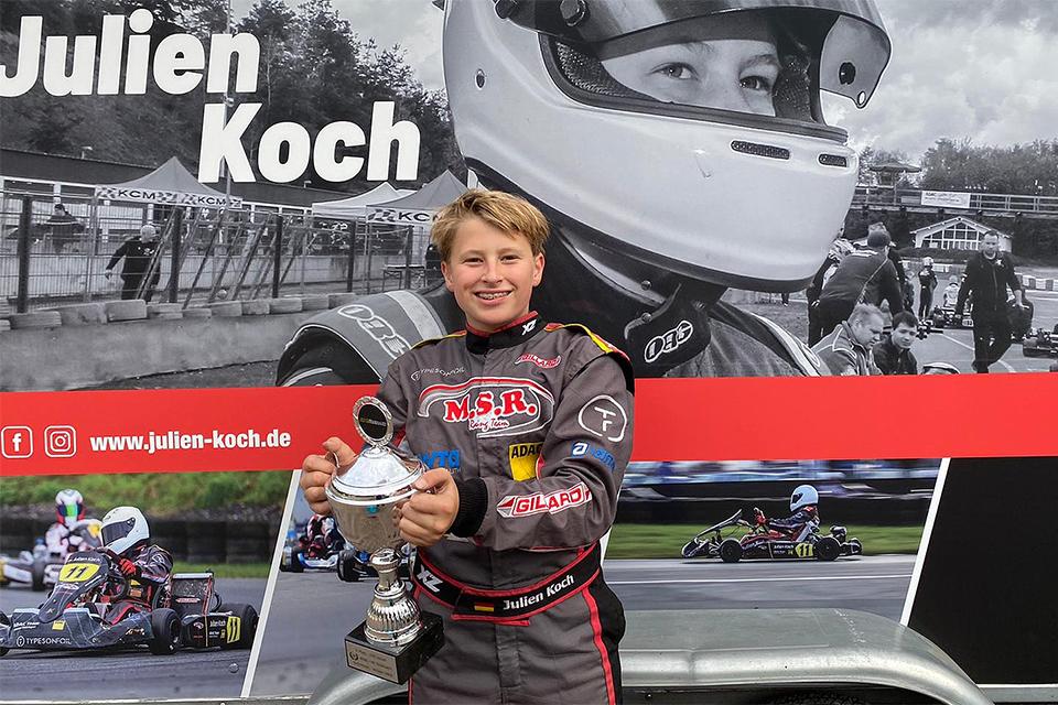 Julien Koch holt zweiten Tagessieg in Folge