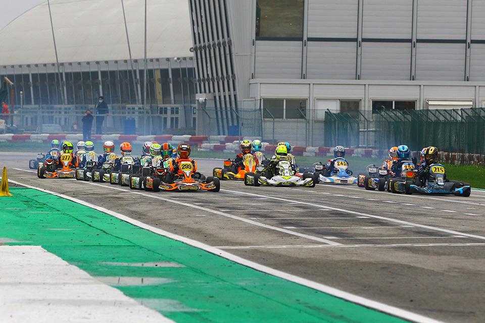 Erste Entscheidungen in der  RMC Euro Trophy in Adria gefallen