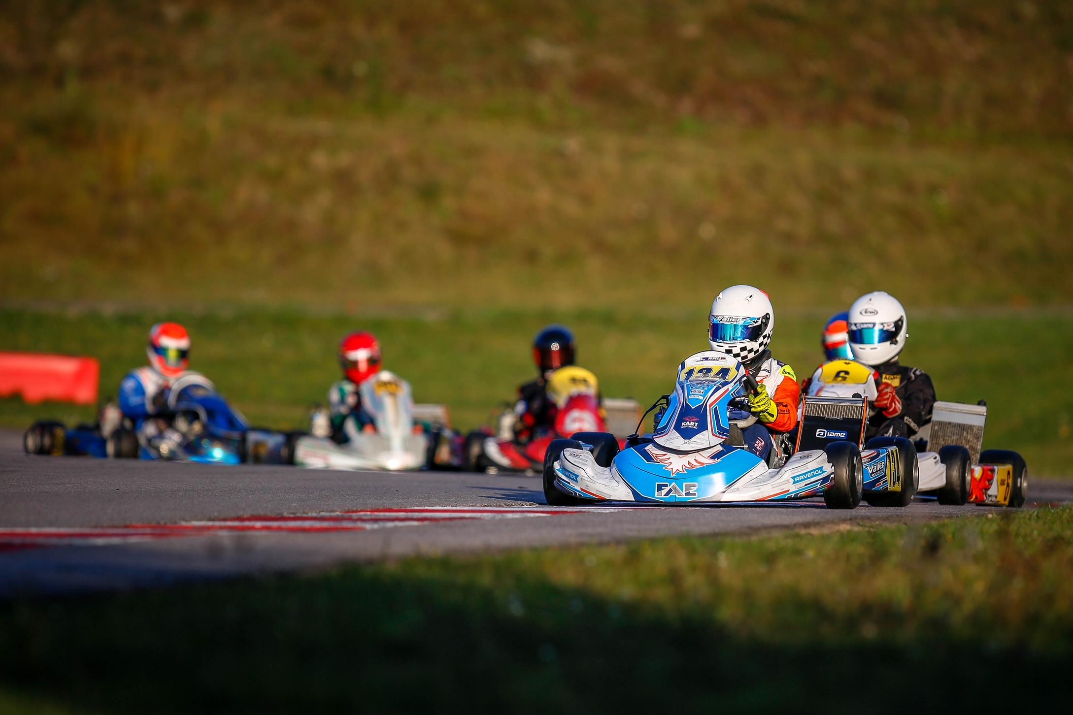 Valier Motorsport landet auf ADAC-Kart-Masters-Podium