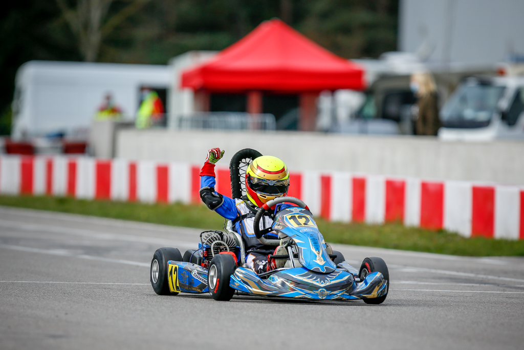 ADAC Kart Masters-Podest für Niklas Cassarino