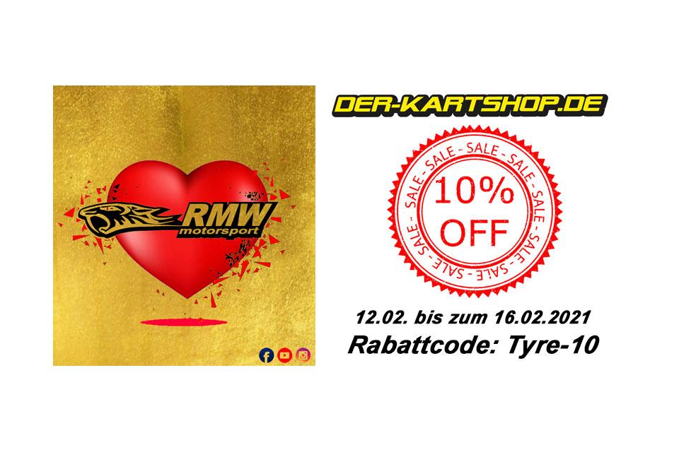 RMW Motorsport bietet Reifen-Rabatt