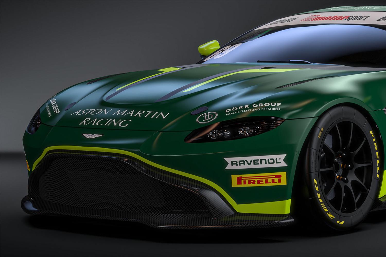 Valier Motorsport 2021 in den Farben von Aston Martin