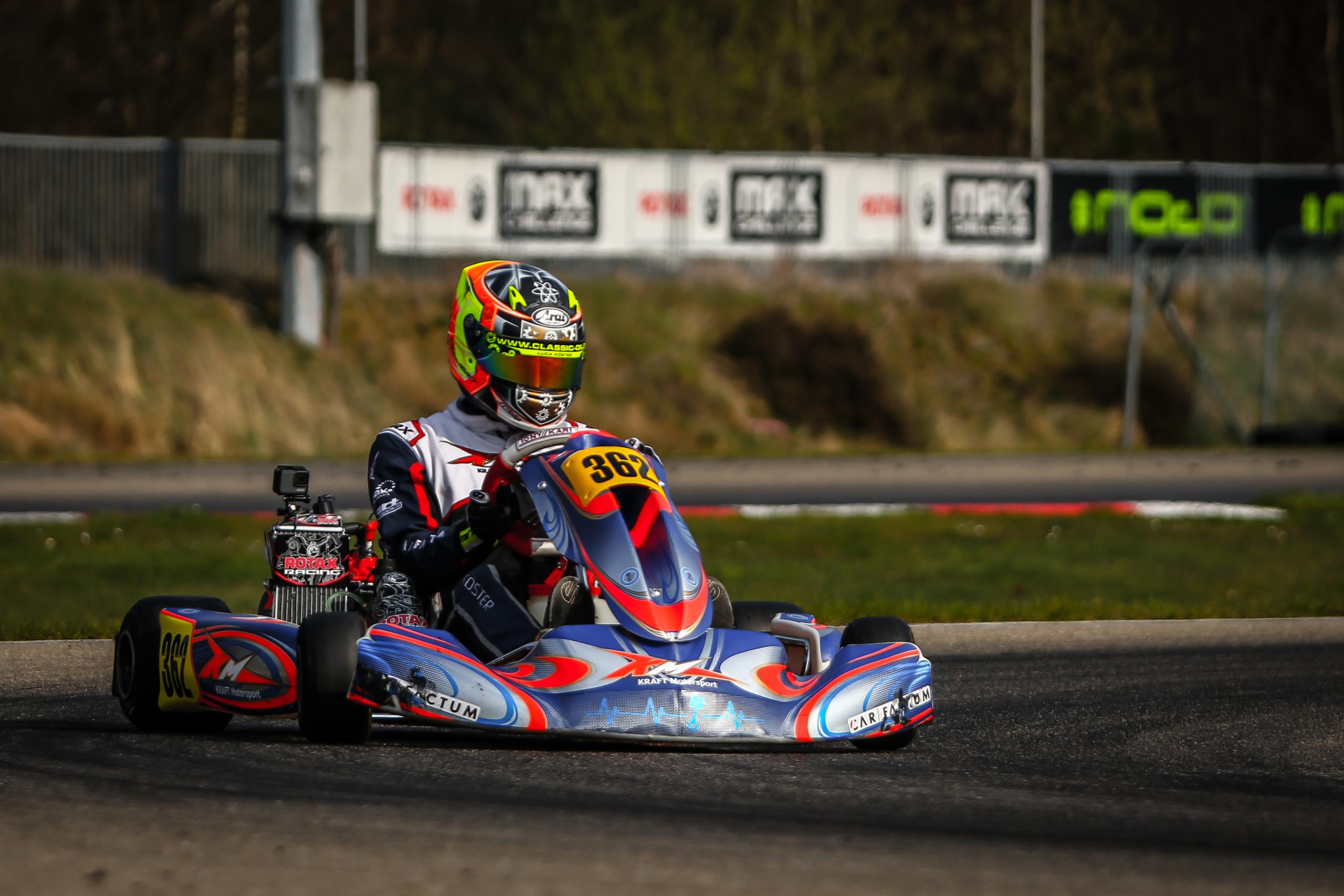 Kraft Motorsport behauptet sich auf internationalem Terrain