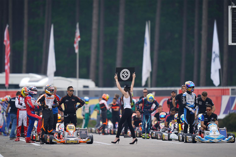 Auftakt der FIA Kart EM in Genk