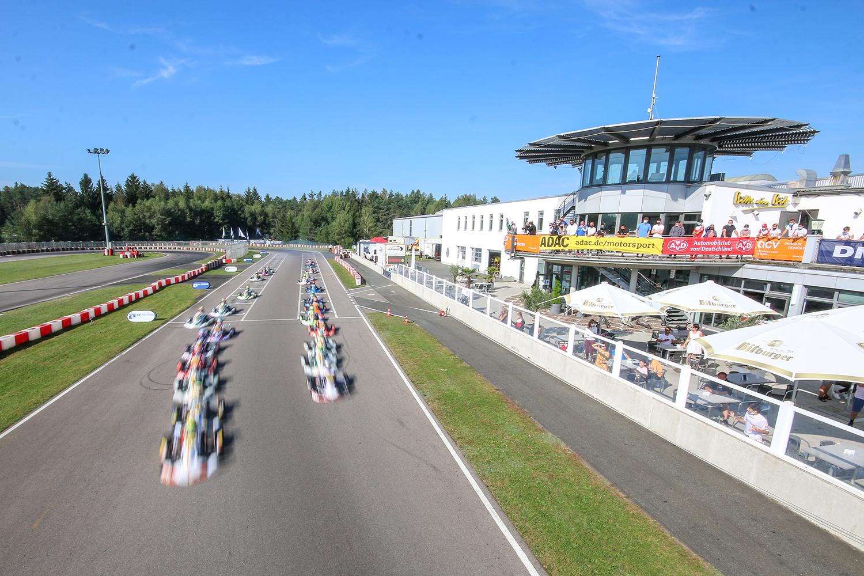 Kart-Europameisterschaft in Wackersdorf findet mit Zuschauern statt