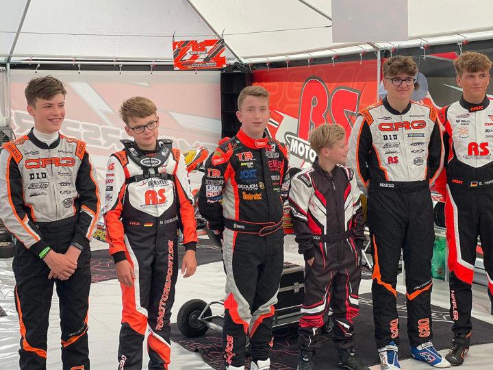 RS Motorsport: Neulinge und Routiniers beim SAKC am Start