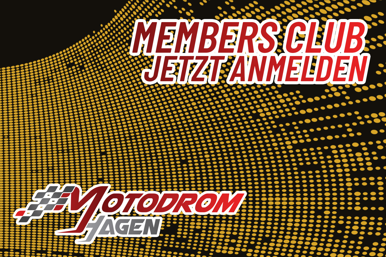 Motodrom Hagen Members Club bietet zahlreiche Vorteile