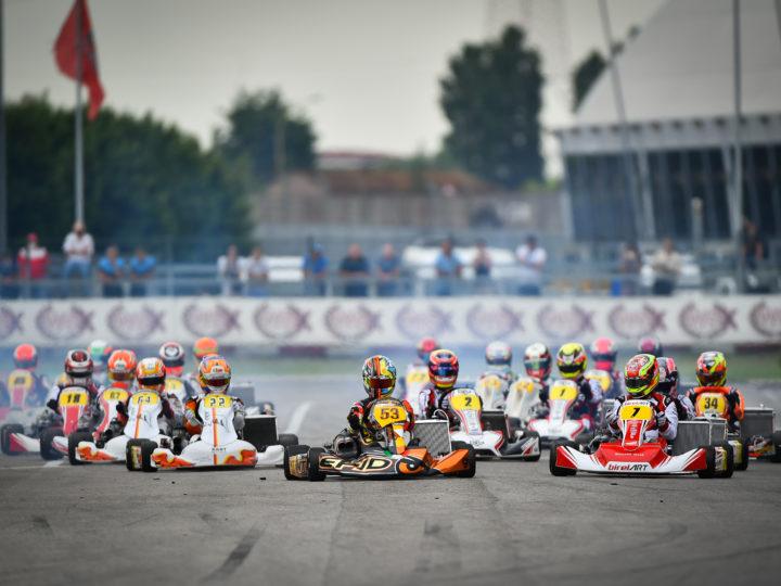 WSK Euro Series: Hitzige Rennen in Adria