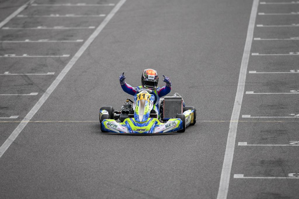 Doppelsieg für Maxim Rehm in Wackersdorf