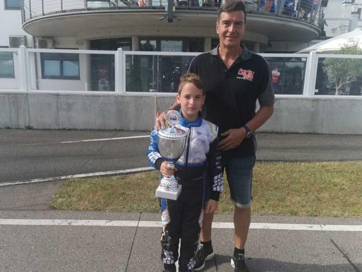Rang zwei für Niklas Cassarino in Wackersdorf