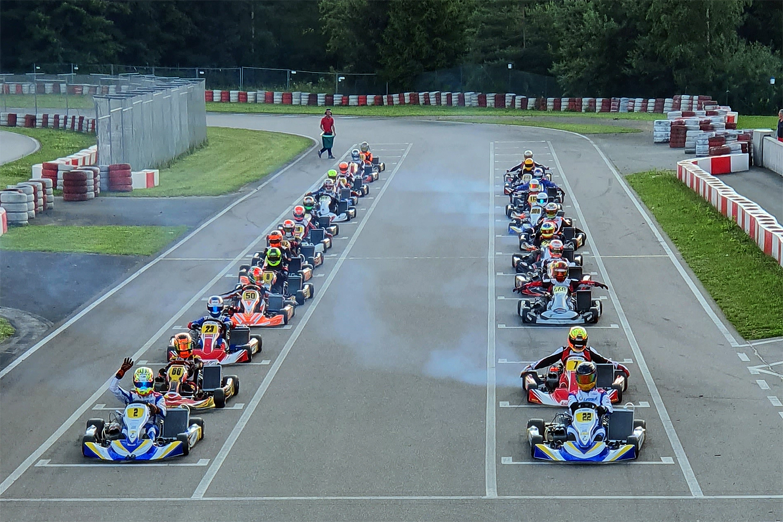 Wetterkapriolen sorgen für spannende SAKC-Rennen in Wackersdorf