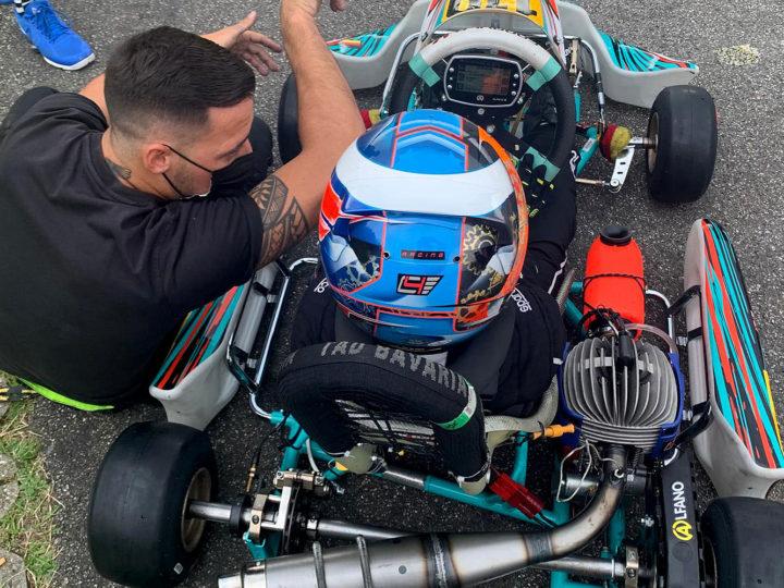 Starkes Debüt von C4-Racing im ADAC Kart Masters