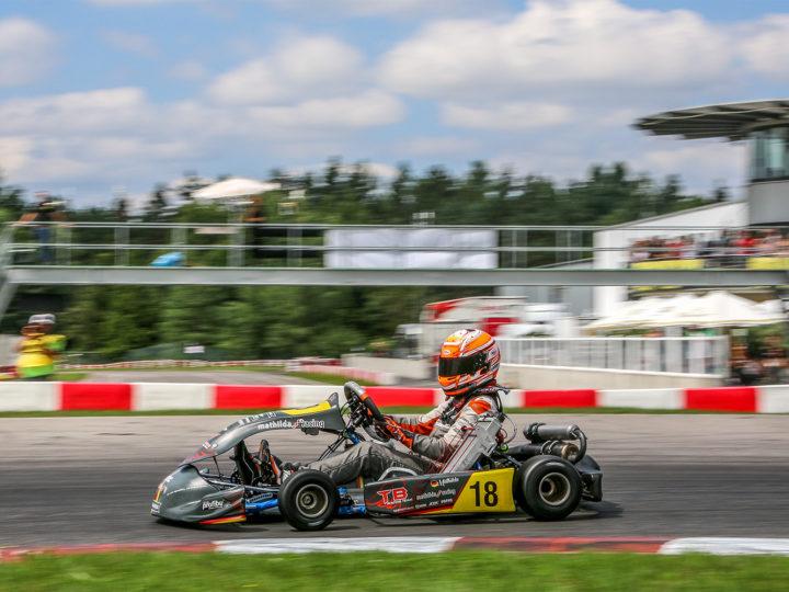 Mathilda Paatz landet beim ADAC Kart Masters in Wackersdorf in den Top-Zehn