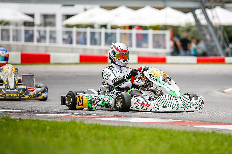 Dritter Saisonsieg für Valentin Kluss in Wackersdorf