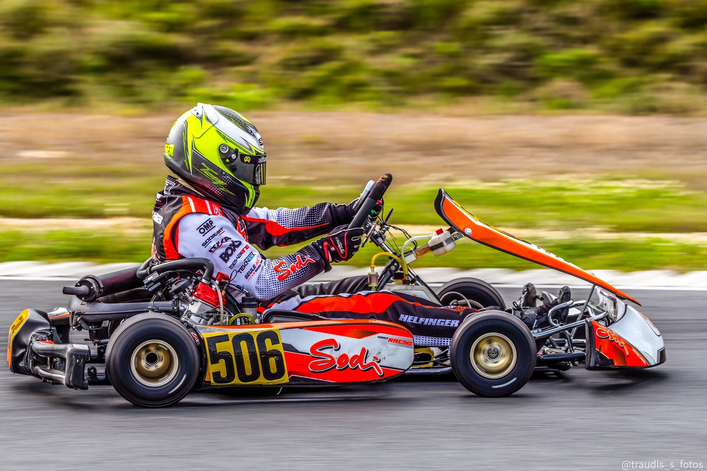 Pole-Position und Rennsieg für Beule Kart Racing in Mülsen