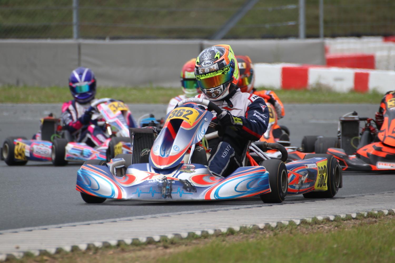 Kraft Motorsport mischt auf internationalem Top-Niveau mit