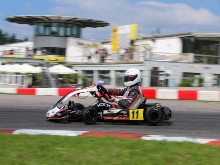 Julien Koch auf ADAC Kart Masters-Pokaljagd