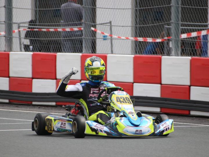 RMC Euro Trophy: Laurenc Seifried auf Top-Fünf-Kurs