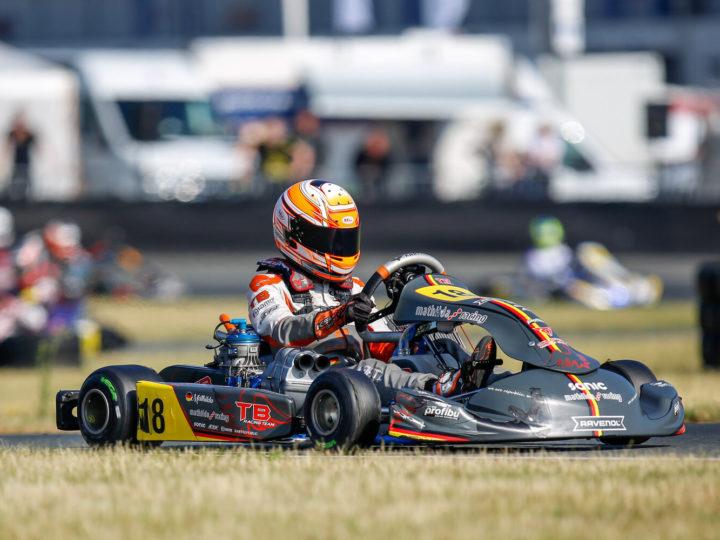 Mathilda Paatz sammelt beim Saisonauftakt des ADAC Kart Masters in Oschersleben die ersten Punkte