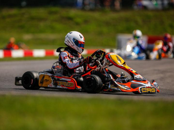 RS Motorsport auf ADAC Kart Masters-Podest
