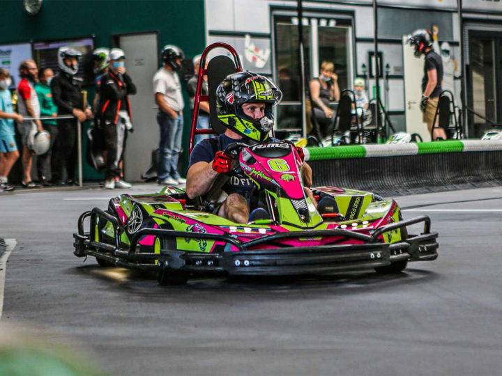 Team Ecodrom gewinnt den E-Kart-Cup in Zweibrücken
