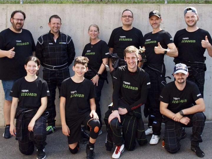 Das Team Ecodrom macht in Winterthur den Hattrick perfekt