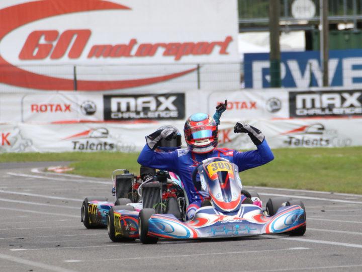 Kraft Motorsport gewinnt Rotax Max Challenge in Kerpen