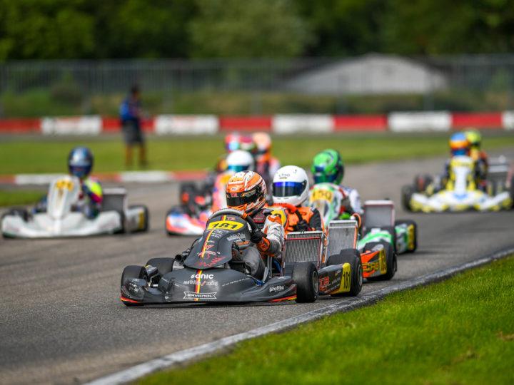 Mathilda Paatz bleibt bei der Deutschen Junioren Kart-Meisterschaft im belgischen Genk ohne Punkte