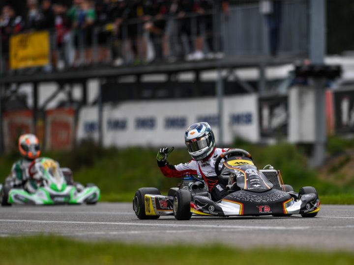 Pole-Position und Laufsiege für TB Racing Team in Genk