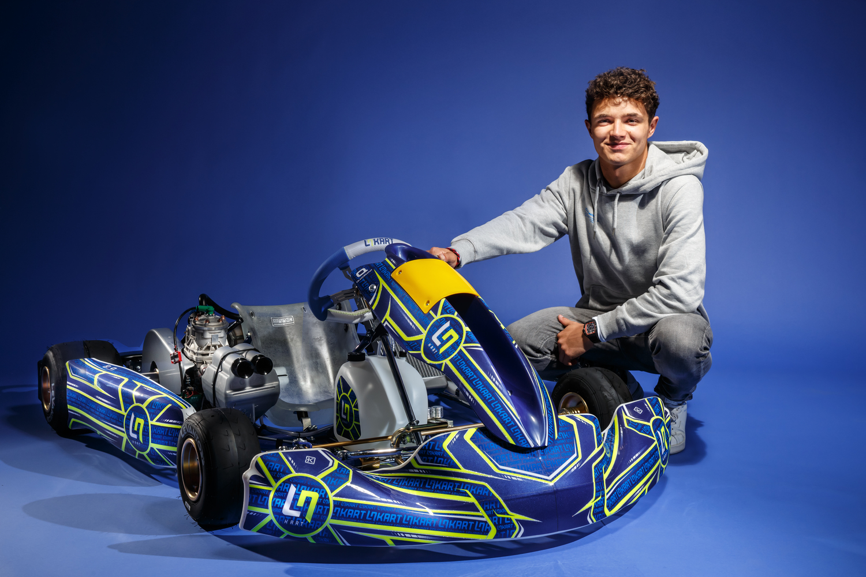 Lando Norris präsentiert LN Racing Kart