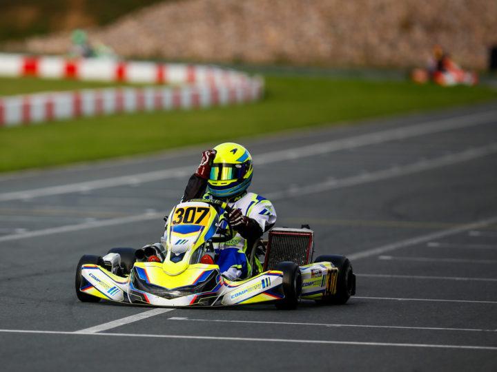 Pole-Position und Laufsieg für CompKart Deutschland im DSKC